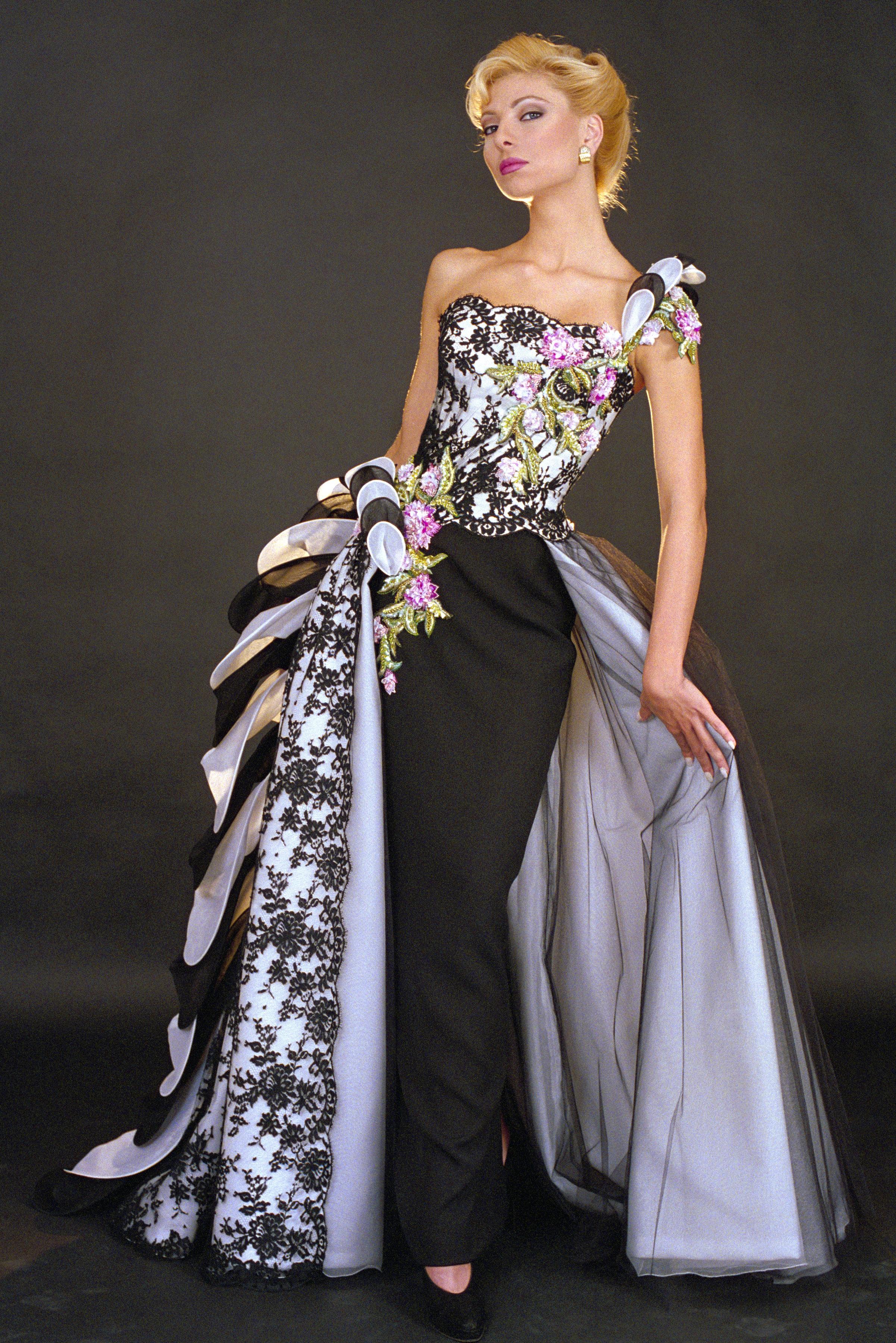 f11f689cae3e Haute Couture dress from Blanka Matragi s 15th anniversary collection